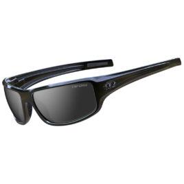 Tifosi BRONX Gloss Black Smoke Sunglasses