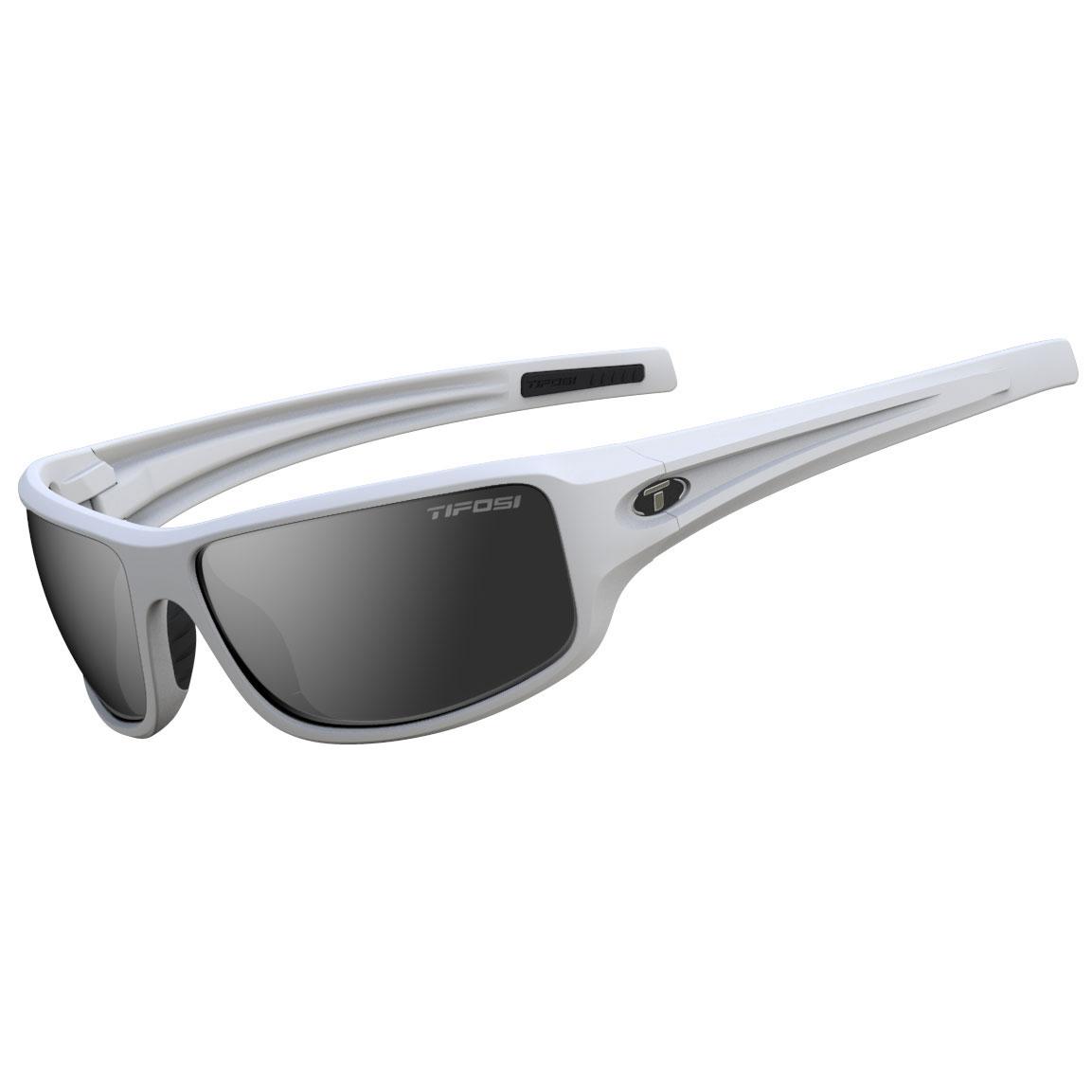 ed57253809 Tifosi BRONX Matte White Smoke Sunglasses - ShopGolfSunglasses.com